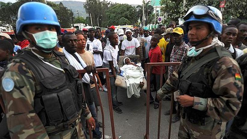 Chaos in Haiti : Kampf gegen die Anarchie