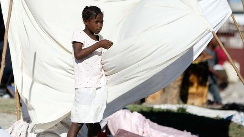 Haiti nach der Katastrophe: Heftiges Nachbeben in Port-au-Prince
