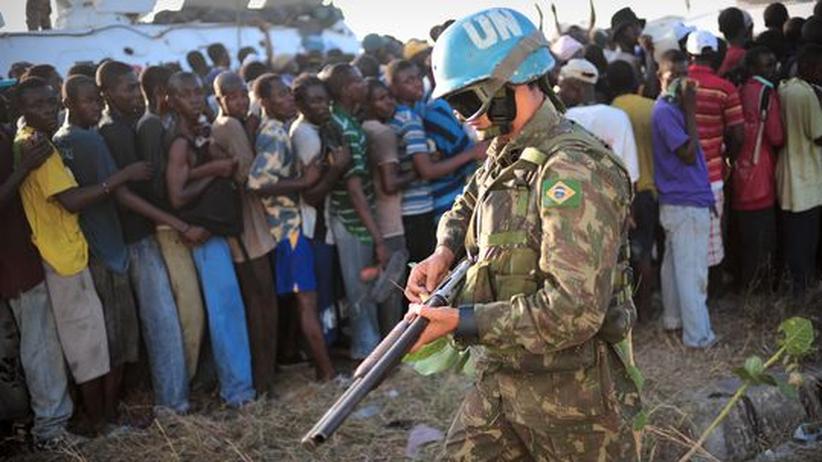 Hilfe für Haiti: EU will 300 Gendarmen nach Haiti schicken