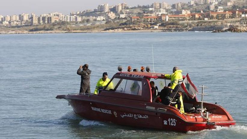 Unglück vor Beirut: Flugschreiber der abgestürzten Boeing gefunden