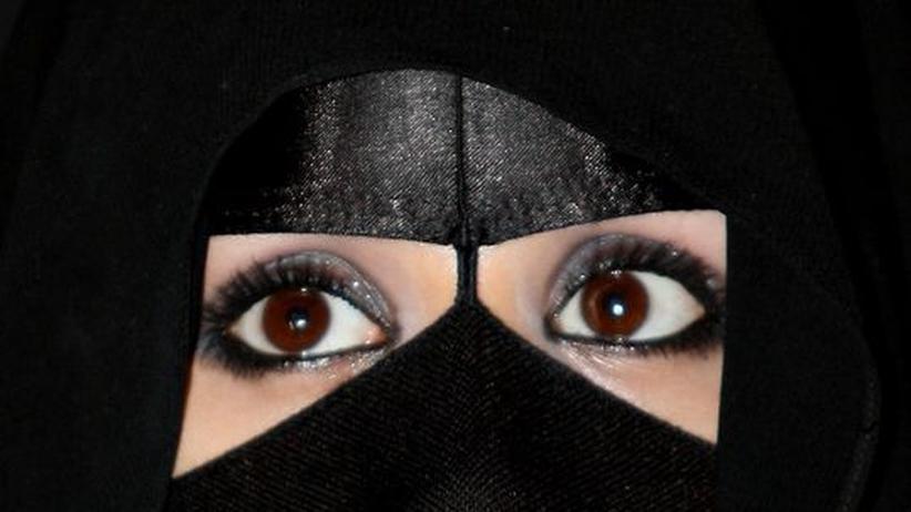 saudische Verkäuferin in Riad