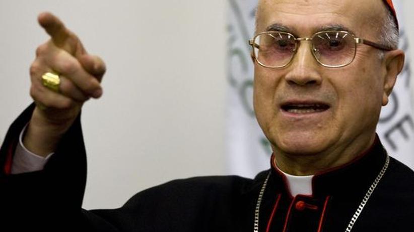 Kardinalsekretär Tarcisio Bertone: Die Kardinalsfrage