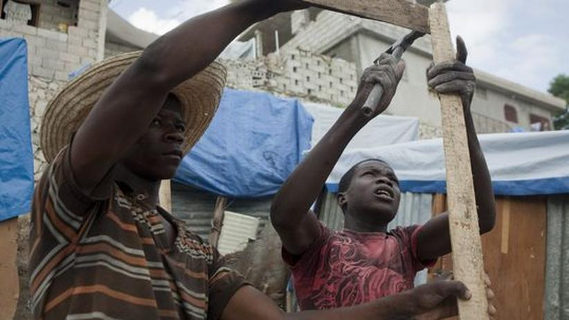 Haiti: Fast zehn Milliarden Dollar zum Wiederaufbau