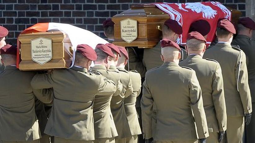 Begräbnis in Polen: Ein Volk erweist seine letzte Ehre