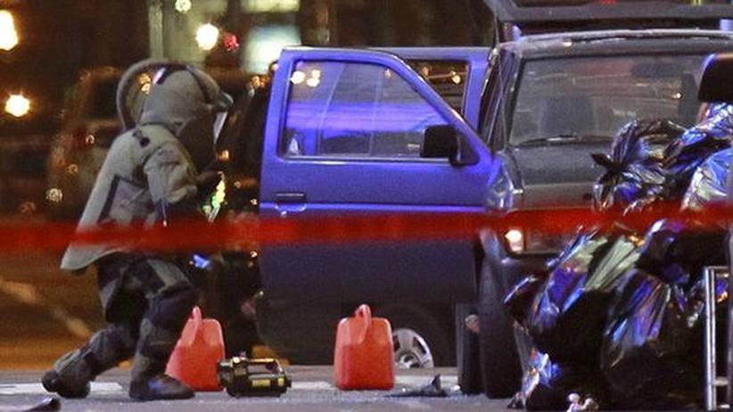 USA: Terroralarm auf dem Times Square