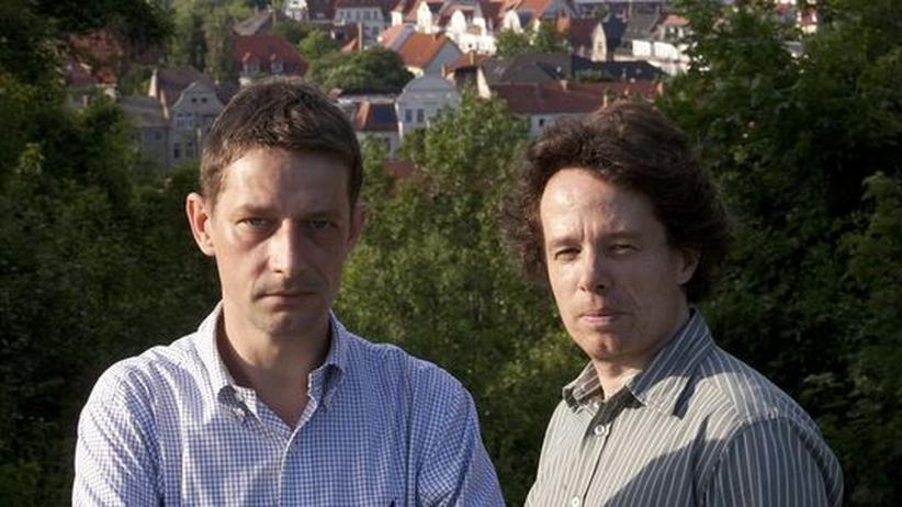Die freien Journalisten Arndt Ginzel und Thomas Datt