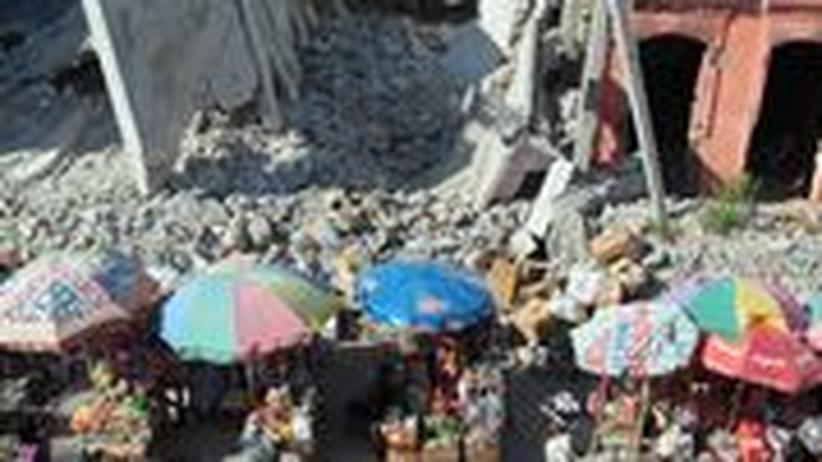Haiti Cholera Erdbeben Hilfe