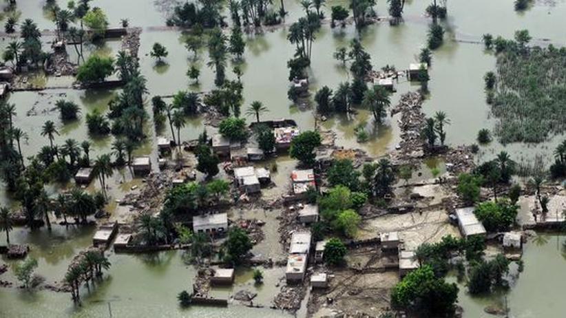Flutkatastrophe: Nato will Luftbrücke nach Pakistan einrichten