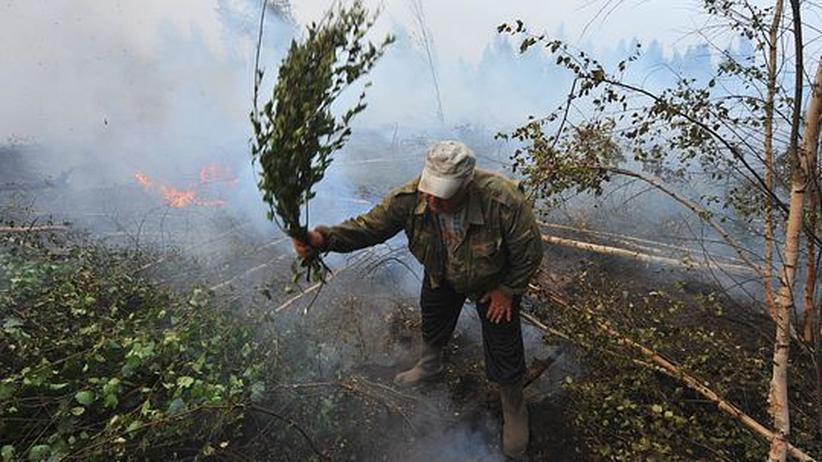 Russland: Nach den Bränden kommt der Hagel