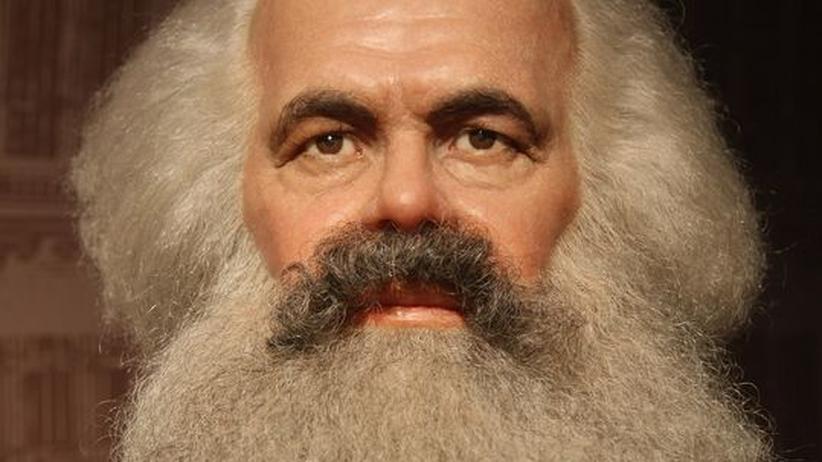 Die Wachsfigur von Karl Marx
