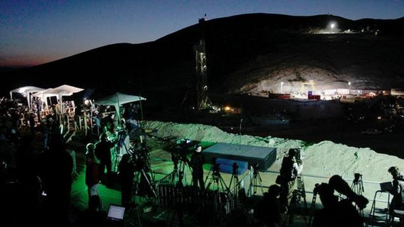 Chilenische Bergleute: Das Unglück als Medienereignis