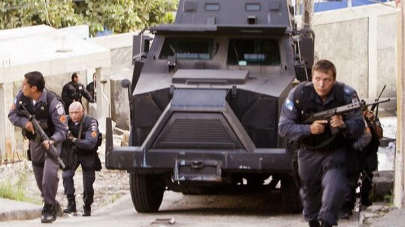 Rio de Janeiro: Großangriff auf Drogenhändler