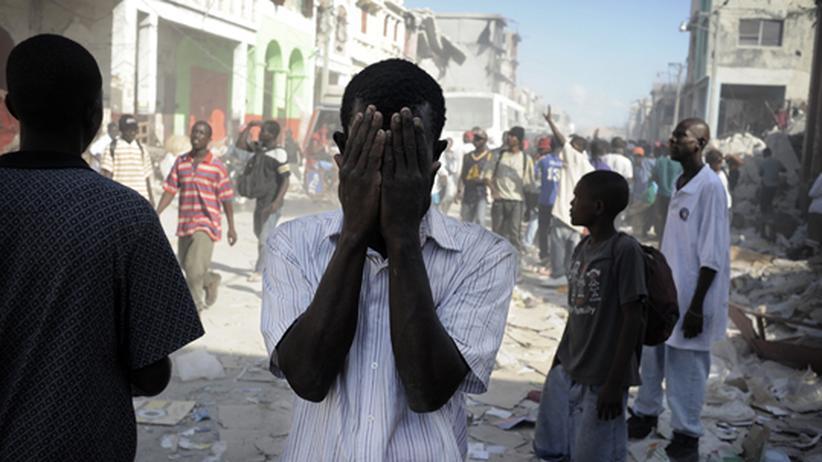 Port-au-Prince, 17. Januar 2010