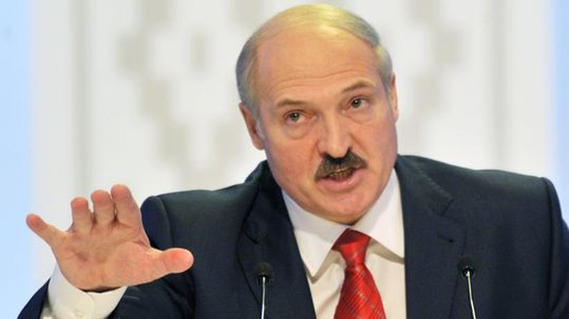 Weißrusslands Präsident Alexander Lukaschenko