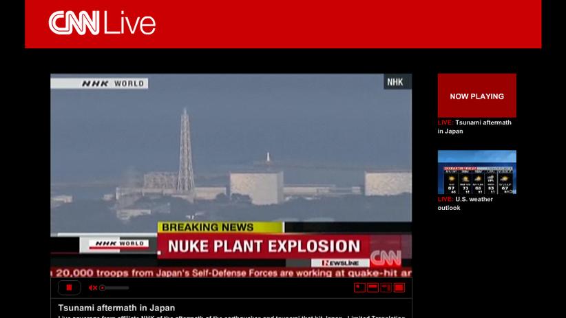 Fukushima-1: Explosion in japanischem Atomkraftwerk