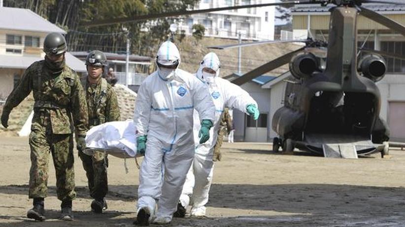 Erdbeben: Regierung hält Kernschmelze für möglich