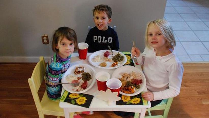 Gute Erziehung beginnt meist bei den Tischmanieren