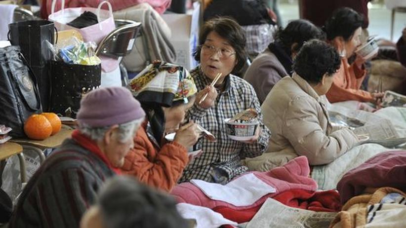 Hilfsmaßnahmen: Erdbebenopfer in Not