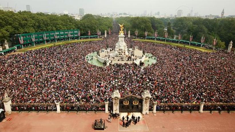 Königliche Hochzeit: Der Tag, an dem Großbritannien verrückt spielte