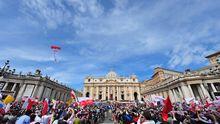 Papst Johannes Paul II Rom Vatikan Seligsprechung