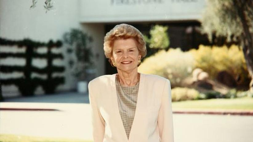 USA: Frühere First Lady Betty Ford ist tot
