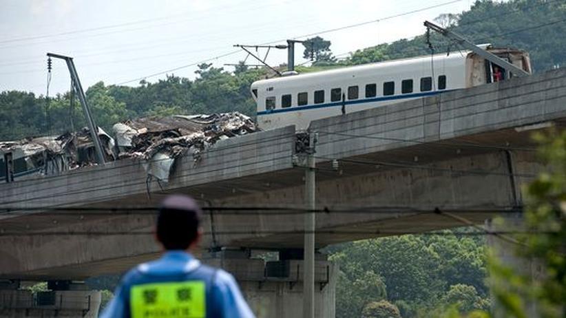 China: Signalfehler soll Zugunglück verursacht haben