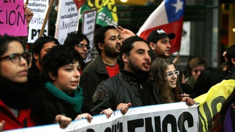 Jugendproteste in Chile: Die Mächtige