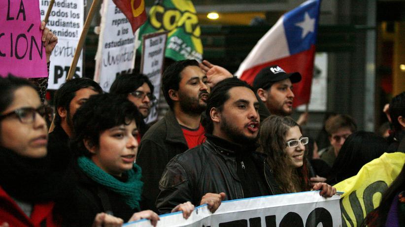 Jugendproteste in Chile: Eine Studentin führt die Proteste in Chile an