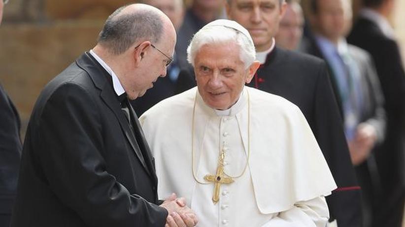 Benedikt XVI. in Deutschland: Protestanten nach Treffen mit dem Papst unzufrieden