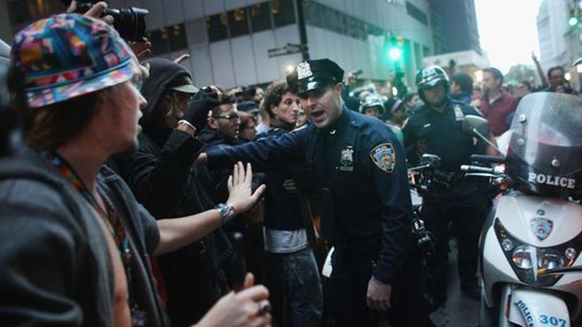 Occupy Wall Street: Dutzende Wall-Street-Kritiker nach Protesten festgenommen