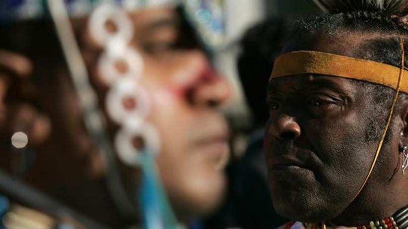 Minderheiten: Auch Schwarze wollen Indianer sein