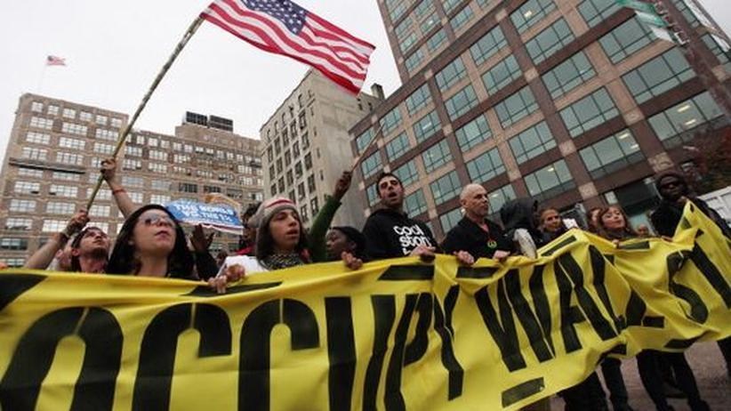 """Protest: """"Occupy hat ein neues Stadium erreicht"""""""