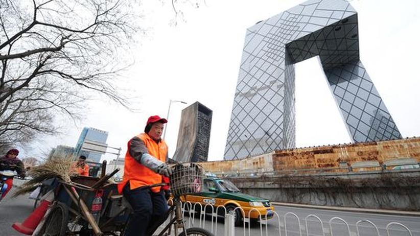 Medien: Die CCTV-Sendezentrale in Peking