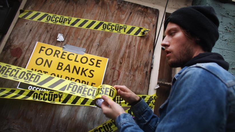 Occupy-Bewegung: Aus den Parks in die Häuser