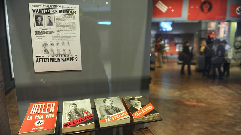 """Adolf Hitler: Keine Aufregung mehr um """"Mein Kampf"""""""