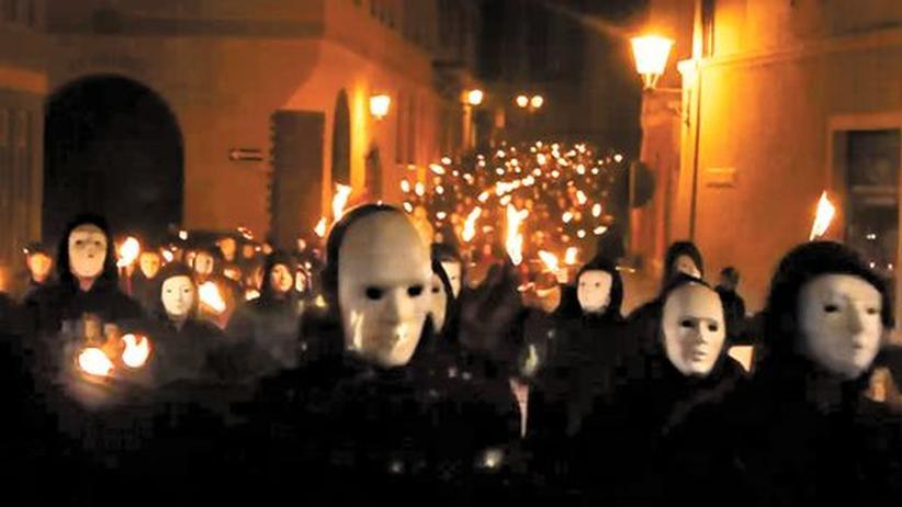 Rechtsextremismus: Unsterblichen-Aufmarsch in Bautzen