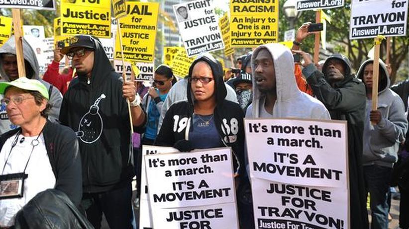 Trayvon Martin: Wer sich bedroht fühlt, darf schießen