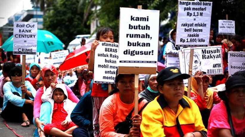 Korruption: Indonesien erstickt an der Korruption