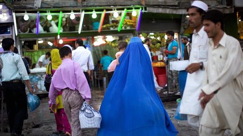 Marktszene in Kabul