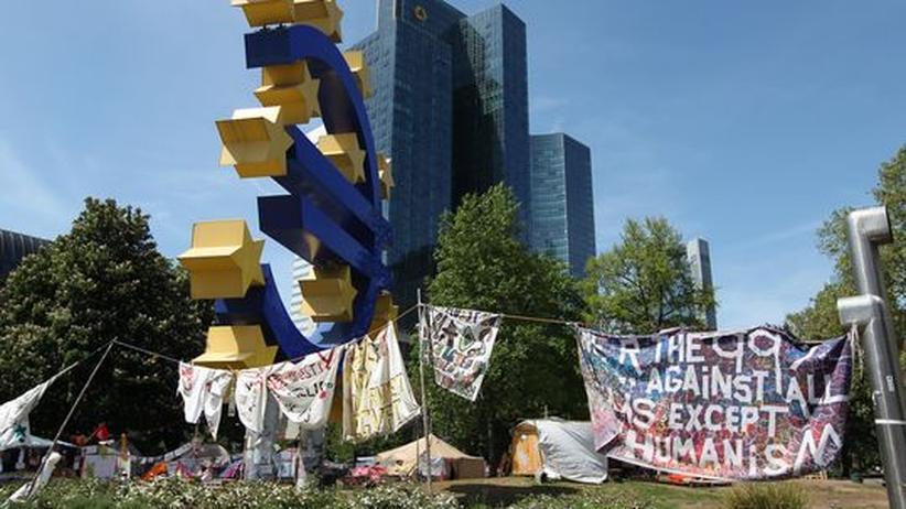 Frankfurt am Main: Blockupy-Aktivisten wollen Demonstrationsverbot trotzen