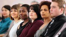 Foreigners Attain German Citizenship At Bellevue Ceremony