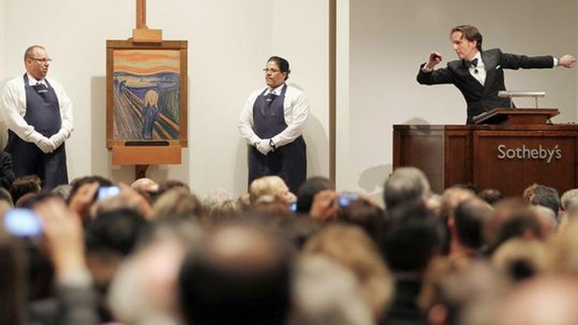 "Kunstmarkt: Munchs ""Schrei"" für Rekordsumme verkauft"