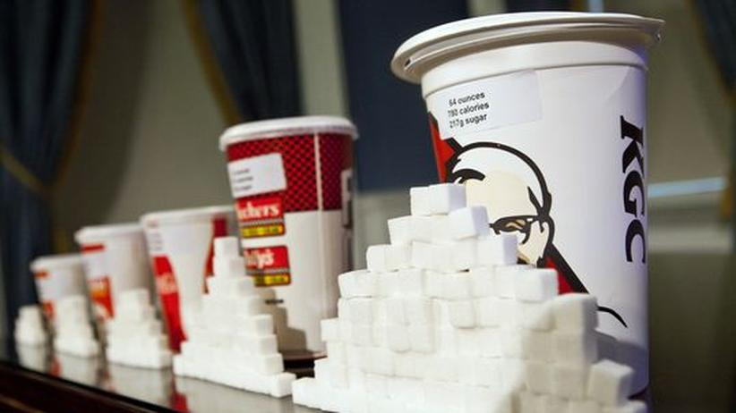 Fettleibigkeit: New York will 1-Liter-Becher verbieten
