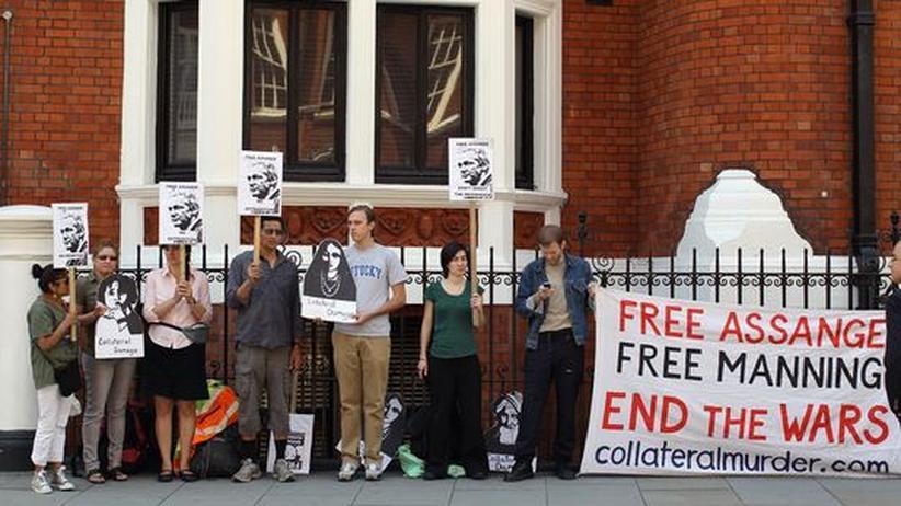 Botschaftsflucht: Ecuador berücksichtigt mögliche Todesstrafe für Assange