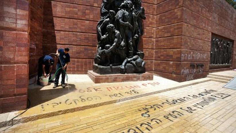 Antisemitismus: Unbekannte schänden Yad Vashem