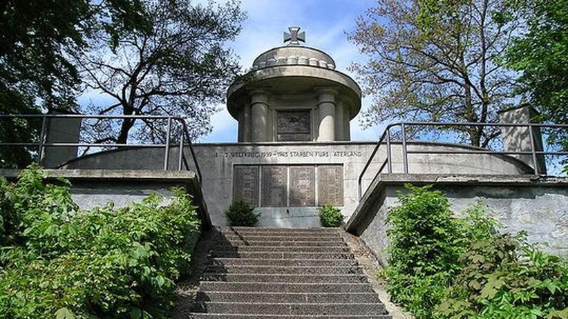 Bayern: Das Kriegerdenkmal in Gräfenberg