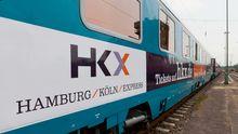 Wagen des Hamburg-Köln-Express (HKX)
