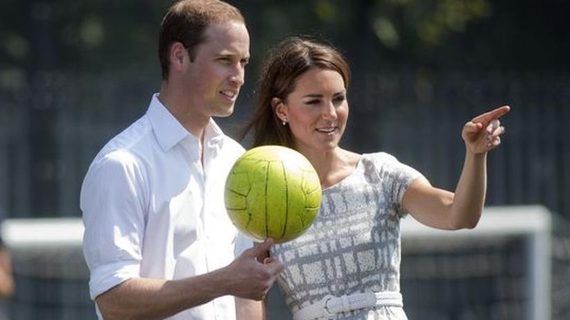 Gesellschaftskritik: Prinz William mit Ehefrau Kate