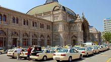 Haupteingang und das zentrale Hauptgebäude des Nürnberger Hauptbahnhofs (Archiv)