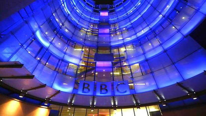 Das BBC-Gebäude in London